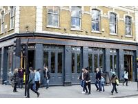Bar staff wanted at The Defectors Weld Pub, Shepherds Bush, London, W12.