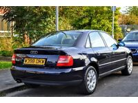 Fantastic Audi A4 Saloon 1.8 petrol 125bhp with 12-month MOT