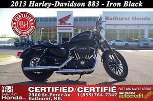 2013 Harley-Davidson 883 LOW Mileage! Certified!