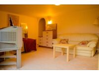 Spacious 1 bed Studio flat with modern kitchen and shower room, stunning views