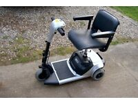 transportable motor scooter