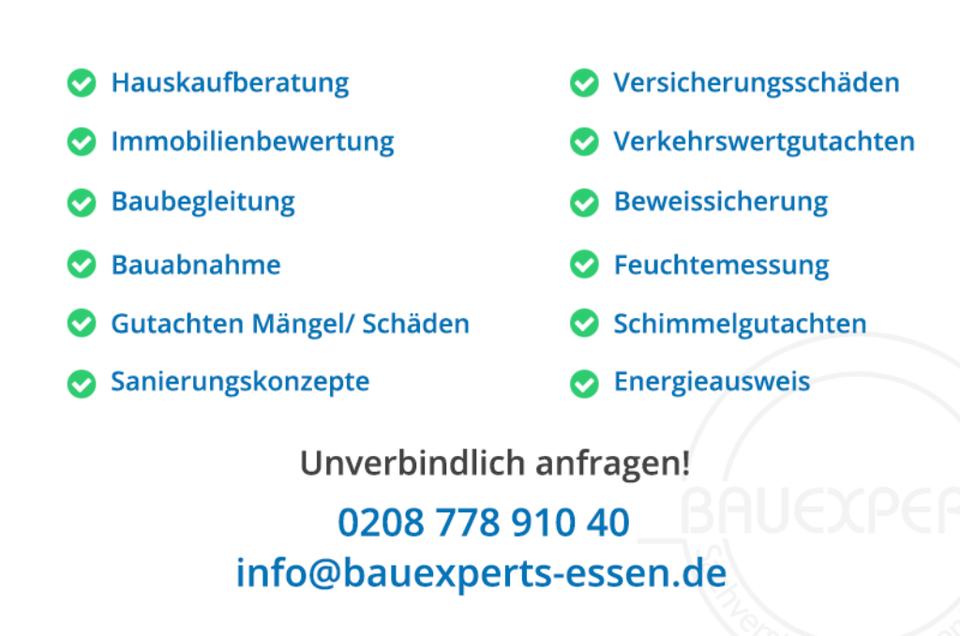 Gutachter Hauskauf / Immobilienkauf Essen in Essen - Essen-Ruhrhalbinsel
