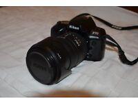 Nikon F70 SLR Film Camera. This is not a digital camera