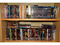 Dvd Bundle 99 dvds + 25 blu ray movies