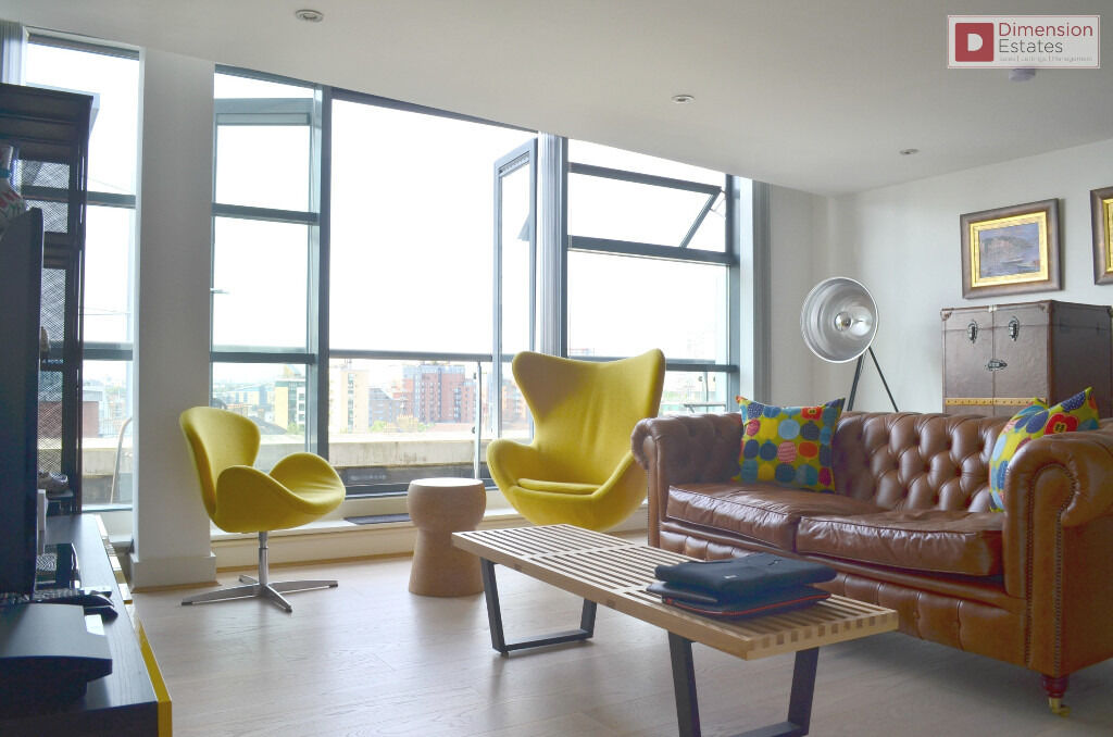 Luxurious 1 Bed Penthouse + Parking --- Canary Wharf E14 --- Only £380pw --- Available 10/10/2016!!