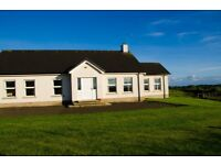 Spacious NITB N Coast holiday home. 5 large bedrooms. Large gardens. Weekends available. Free wifi
