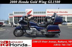 2000 Honda Gold Wing 25th Anniversary