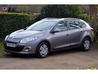 2010 (59 Plate) Renault Megane Expression 1.5 Dci Estate Diesel Manual Full History, £30 Year Tax