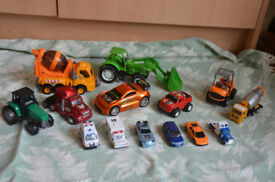 assortment of toy cars - colourful kids toys, good quality