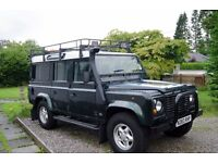1995 Land Rover Defender 110 300Tdi County Station Wagon, 42k miles on new engine, full years MOT