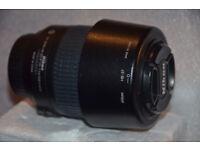 Nikon DX Zoom Nikkor 55-100mm VR f/4-5.6 DX AF-S ED Lens + UV + hood; GREAT condition; CAN POST