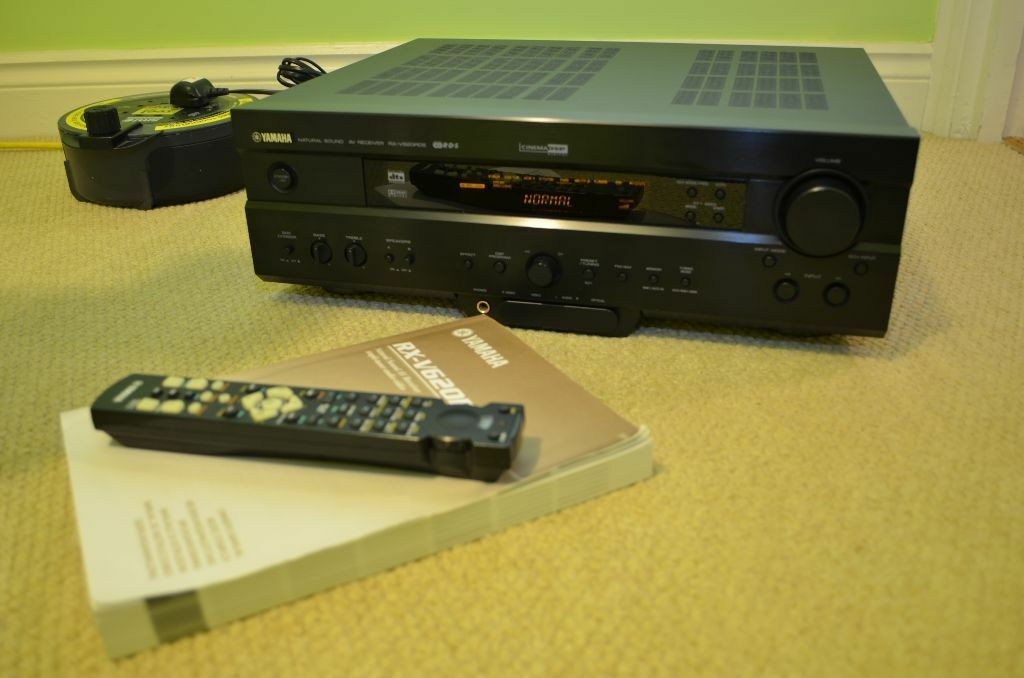 Yamaha rx v620rds home theatre av receiver amplifier for Yamaha amplifier receiver
