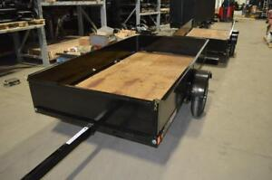 Folding Trailer Made In Canada No Room for full size Utility Trailers? Now you Do !!!