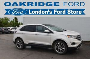 2016 Ford Edge ONE OWNER, HEATED/COOLED PREMIUM LEATHER SEATS, H