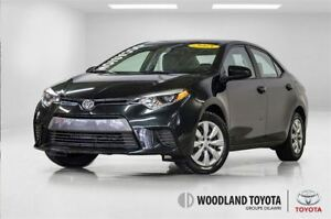 2015 Toyota Corolla 16645 KMS/CAMERA DE RECUL/SIEGES CHAUFFANTS.