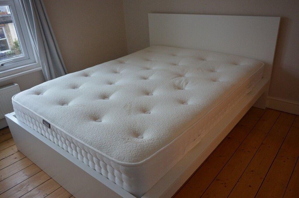 Ikea Malm Bed Frame King Size LurÖy Slatted Base