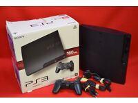 Sony Playstation 3 Slim Console Black 120GB £85