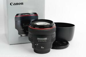 Canon EF 85mm f1.2 II L USM Lens Mint/Boxed