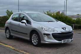 PEUGEOT 308 1.6 HDI SR ( PART EXCHANGE & CARD PAYMENTS WELCOME ) long m.o.t