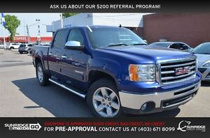 2012 GMC Sierra 1500 SLE Crew Cab Short Box 4x4, LEATHER, MOONRO