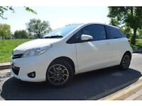 13M MOT,3M GOLD WARRNTY,2012 TOYOTA YARIS EDITION VVTI 1.0,MANUAL,PETROL,WHITE COLOR,ALLOY,HPI CLEAR