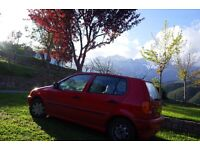 Trusty Red VW POLO (1999) - Automatic, recently serviced, new exhaust & MOT - £300