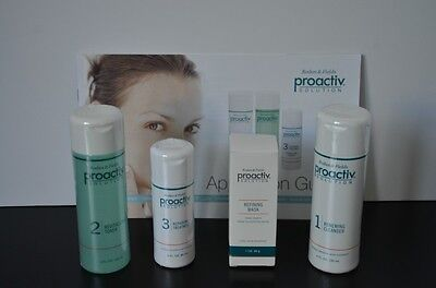 PROACTIV PROACTIVE SOLUTION 4 PC 60 DAY SUPPLY KIT~NEW FORMULA~ on Rummage