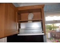 Hood extractor NEFF plus two Cabinets