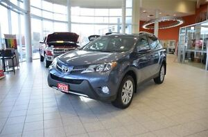 2013 Toyota RAV4 Limited Leather, Memory Seats, Sunroof, Pwr Tai