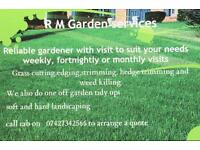 Grass cutting and garden maintenance in West Lothian area