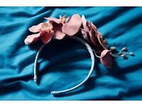 Orchids Fascinator Headband