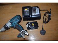 Makita BHP451 + 18V 1.3Ah battery + brand new charger