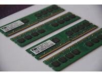 4 x 1GB RAM DDR2 MEMORY