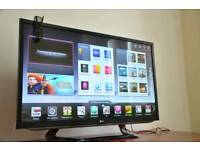 "Lg 42"" Fully Smart tv, Freeview HD. Delivery"