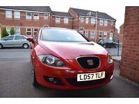 Seat Leon mk2 1.6 Petrol Reference Sport, 2007, 58k, £2250