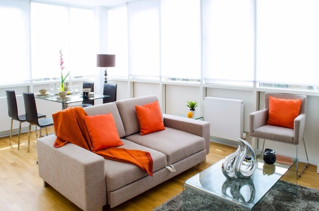 Modern 1bed/1bath apartment*Old Street area*3 months minimum*Fully furnished
