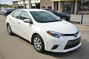 2016 Toyota Corolla LE/HEATED SEATS/BACKUP CAMERA/BLUETOOTH