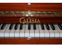 Calisia mahogany upright piano