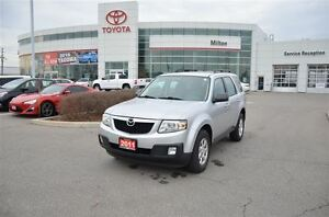 2011 Mazda Tribute GX Auto, Power Windows, A/C, Low kms