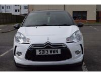 2013 Citroen DS3 1.6 e-HDi Airdream DStyle Plus £6595 ONLY 18903 miles FSH