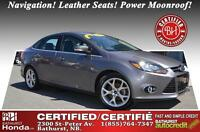 2013 Ford Focus Titanium Fully Loaded! Very Low Mileage! No Acci