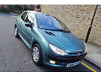 !! Cheap 2002 51 Peugeot 206 1.6 GLX Manual !!
