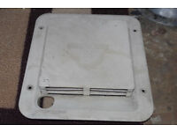 Carver water heater vent ventilation cover caravan campervan conversion