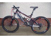 Giant Reign 1 Mountain Bike. Long travel trail / light freeride. Useful upgrades to original spec.