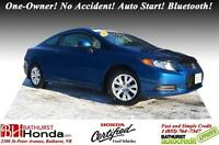 2012 Honda Civic Coupe LX Honda Certified! One-Owner! No Acciden