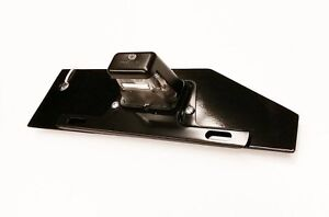 HPC Hummer H2 license plate relocation bracket with light