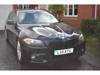 BMW 5 SERIES DIESEL TOURING 520d M SPORT 5dr STEP AUTO. (184 BHP) Huge spec over £8000 of extras.