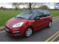 2013 CITROEN C4 PICASSAO 1.6 E-HDI 100 A/D PLATINUM,NEW TYRES, BREAK PADS & DISC,MPV,AUTO,DIESEL,RED