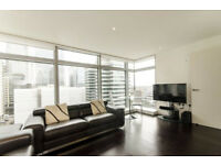 Luxurious 2 bed 2 bath in Canary Wharf with amazing views of the city!
