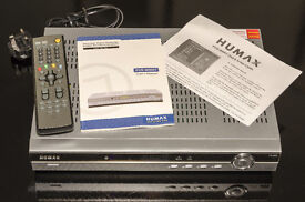Humax PVR 8000T (80GB) Freeview/VHF receiver/Recorder.